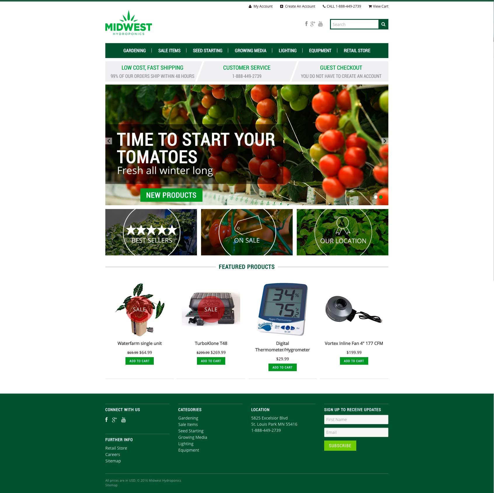 eCommerce website development, eCommerce web design